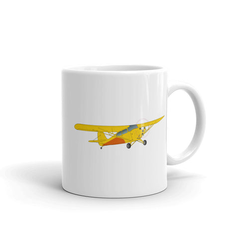 Airplane Design (Yellow) Mug - AIRJ5I381-Y1