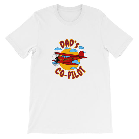 Dad's Co-Pilot Theme T-Shirt - KDAD-AIR255JK1-RB1