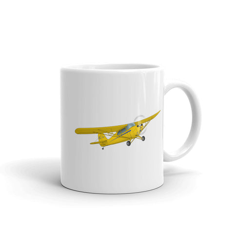 Airplane Design (Yellow) Mug - AIRJ5I38911AC-YB1
