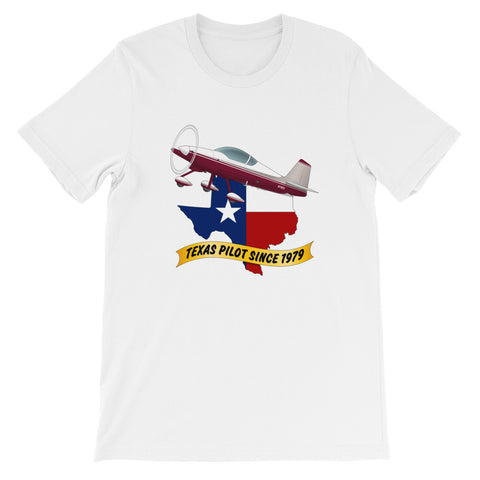 Texas Pilot Since 19xx Theme T-Shirt - AIRM1EIM6A-MS1