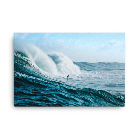 Sea Waves Canvas Wraps