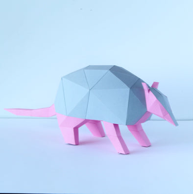 Armadillo Kit - Low Poly Crafts