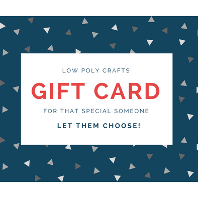 Gift Card - Low Poly Crafts