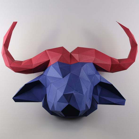 Water Buffalo kit - Low Poly Crafts