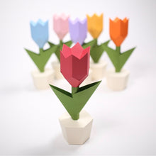 Load image into Gallery viewer, Tulip Kit - Low Poly Crafts