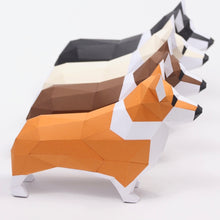 Load image into Gallery viewer, Corgi Kit - Low Poly Crafts