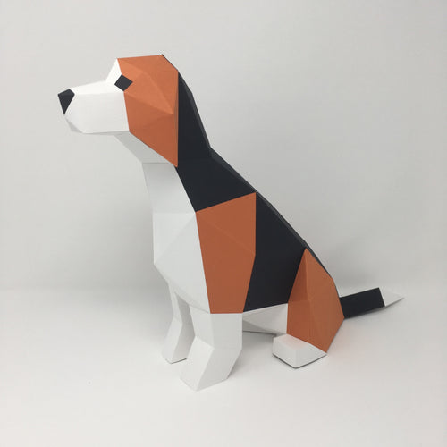 Beagle Kit - Low Poly Crafts