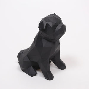 Pug Kit - Low Poly Crafts