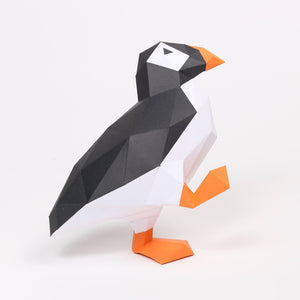 Puffin - Low Poly Crafts
