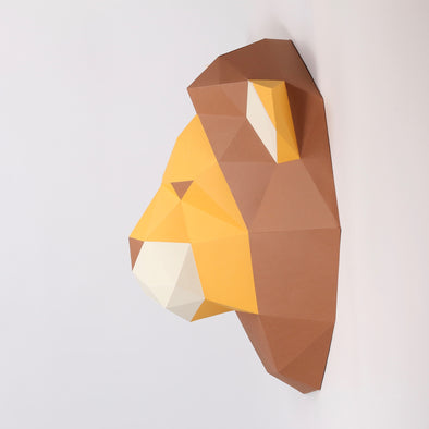Lion Kit - Low Poly Crafts