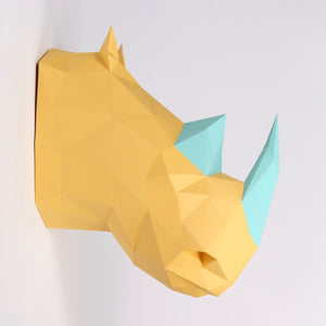 Rhino HEADS - Low Poly Crafts