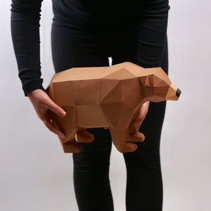 Bear Brown Kit - Low Poly Crafts