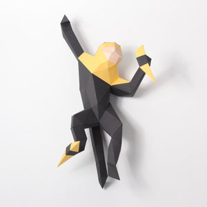 Capuchin Monkey - Low Poly Crafts