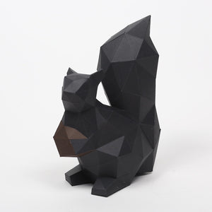 Squirrel Kit - Low Poly Crafts