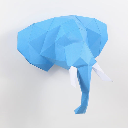 Elephant - Large Kit - Low Poly Crafts