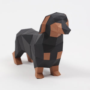 Dachshund Kit - Low Poly Crafts