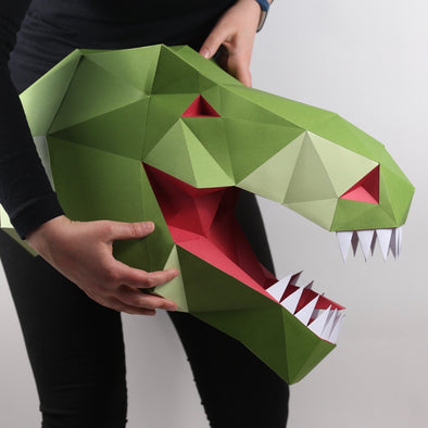 T Rex Kit - Low Poly Crafts