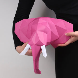 Elephant - Small Kit - Low Poly Crafts