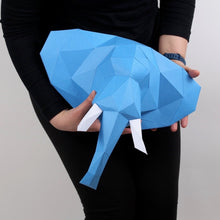 Load image into Gallery viewer, Elephant - Small Kit - Low Poly Crafts