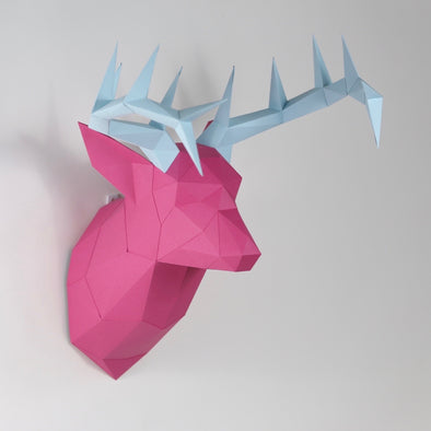 Deer Kit ANTLERS - Low Poly Crafts