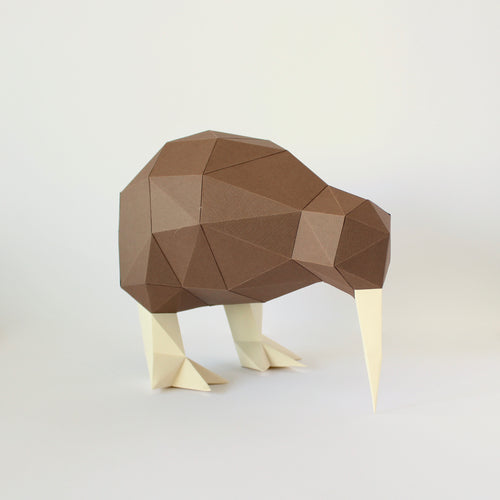Kiwi - Low Poly Crafts