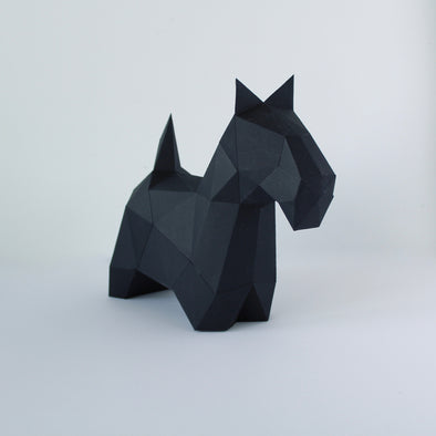 Scottie - Low Poly Crafts