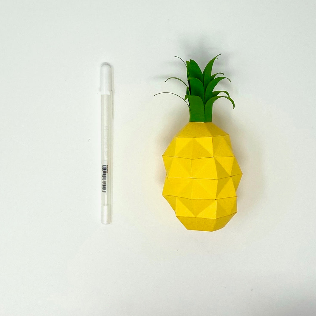 Free Pineapple - Low Poly Crafts