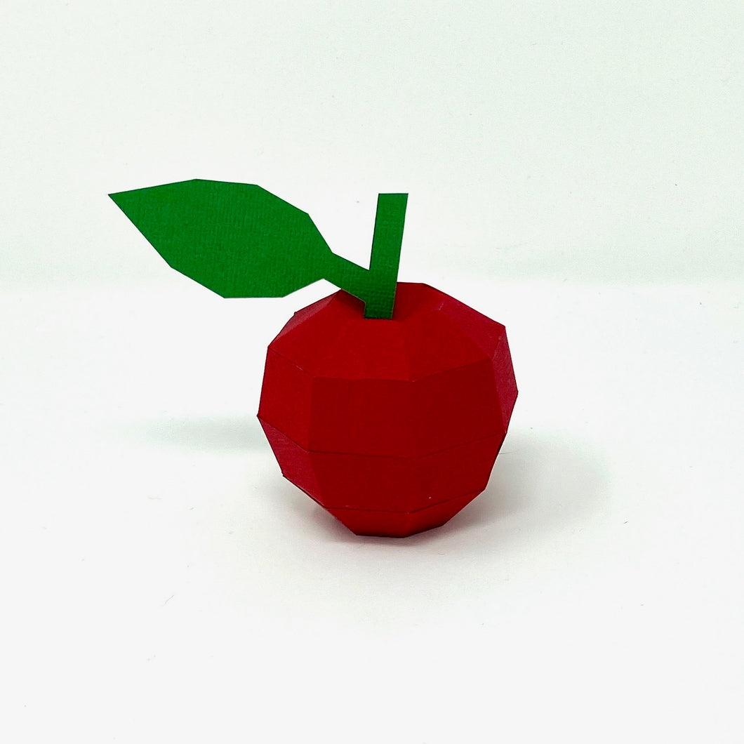Free Apple - Low Poly Crafts