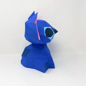 Free Alien Dog - Low Poly Crafts