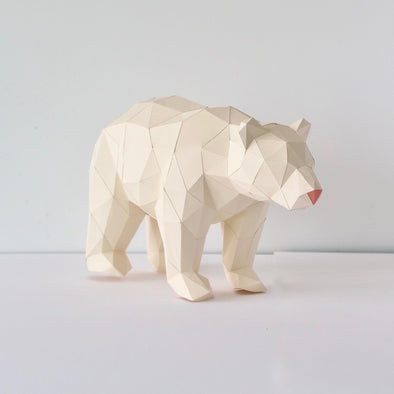 Black Bear - Low Poly Crafts