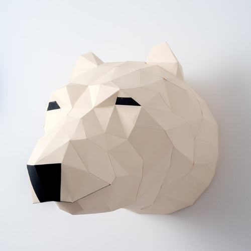 Polar Bear Kit - Low Poly Crafts