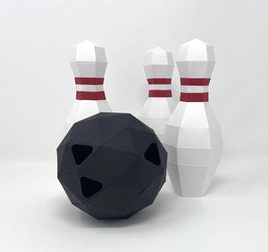 Free Bowling Ball - Low Poly Crafts