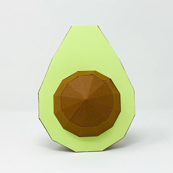 Free Avocado - Low Poly Crafts