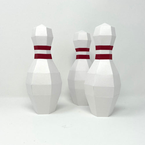 Free Bowling Pin - Low Poly Crafts