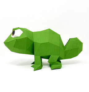 Free Chameleon - Low Poly Crafts