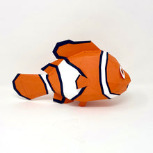 Load image into Gallery viewer, Free Clownfish - Low Poly Crafts