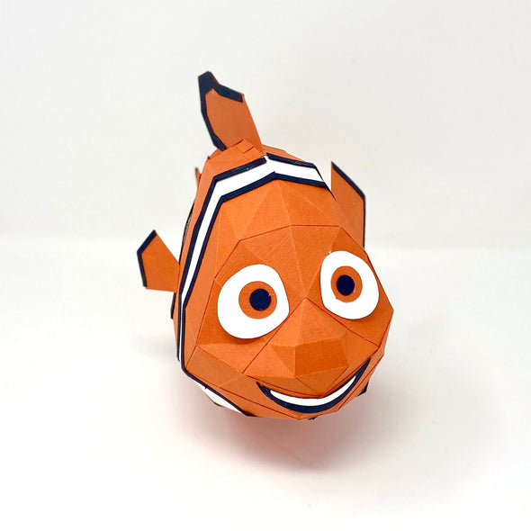 Free Clownfish - Low Poly Crafts
