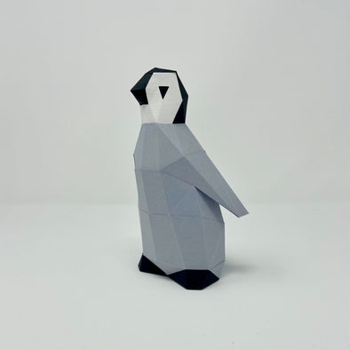 Penguin Chick - Low Poly Crafts