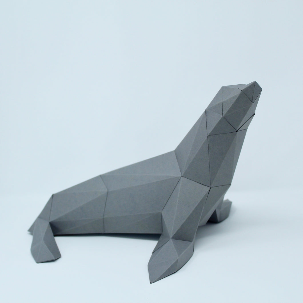 Sea lion Kit - Low Poly Crafts