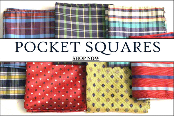 Pocket Squares - Knot tied down
