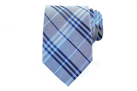 Electric Boo Berry Silk Tie - Knot Tied Down