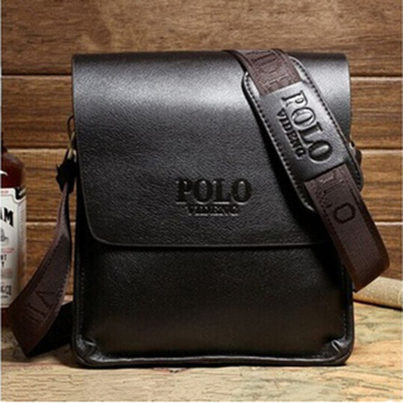 Men's Leather Computer Briefcase Shoulder  and  Messenger Bag -Free Ship To Phillipines 15-30 days delivery time.
