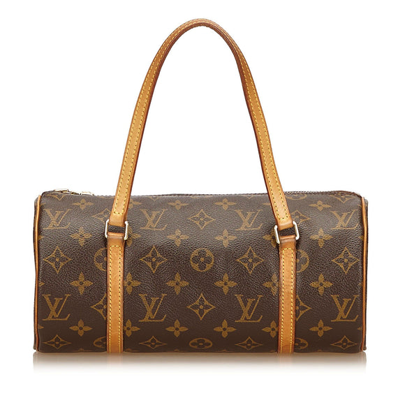 Brown Louis Vuitton Monogram Papillon 26 Bag