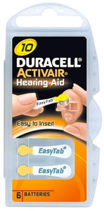 Duracell Activeair® Hearing Aid Batteries - Size 10 - 80 Batteries