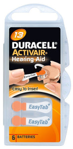 Duracell Activeair® Hearing Aid Batteries - Size 13 - 80 Batteries