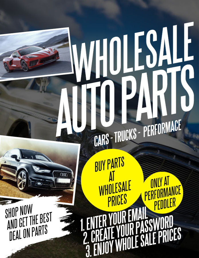 Wholesale auto parts. 25% off retail. Create account to access wholesale prices.