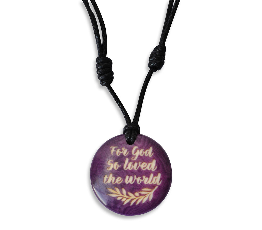 For God So Loved The World - Necklace, Necklace, Hola Hola® - Hola Hola™