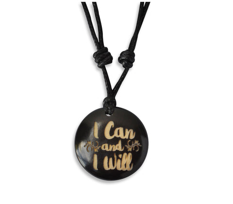 I Can and I Will - Necklace, Necklace, Hola Hola® - Hola Hola™