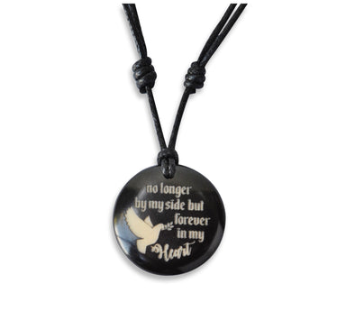 No Longer By My Side But Forever In My Heart - Necklace, Necklace, Hola Hola® - Hola Hola™