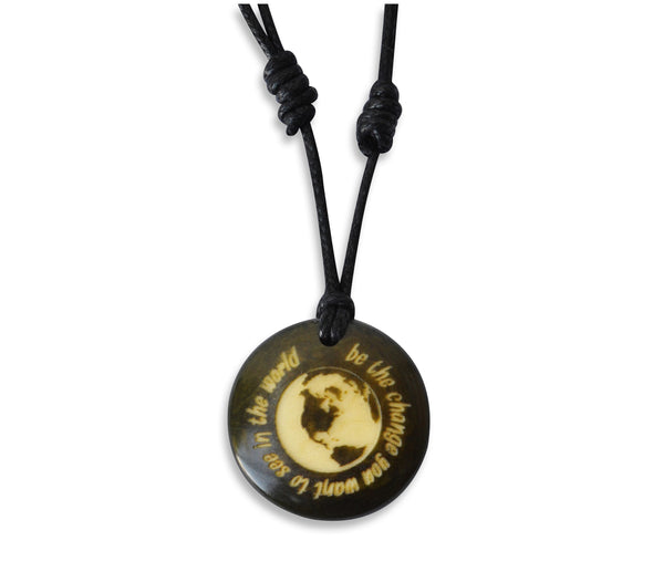 Be the Change You Want to See in the World - Necklace, Necklace, Hola Hola® - Hola Hola™